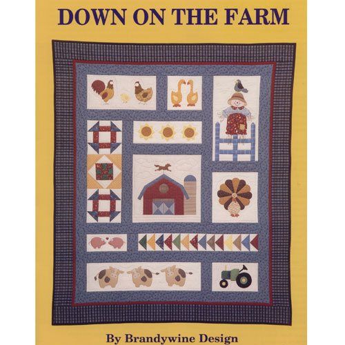 DOWN ON THE FARM QUILT PATTERN BOOK