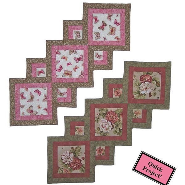 accent your focus table runner pattern