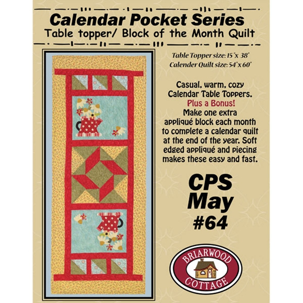 Calendar Pocket Series May Pattern
