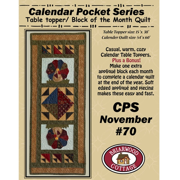 Calendar Pocket Series November Pattern