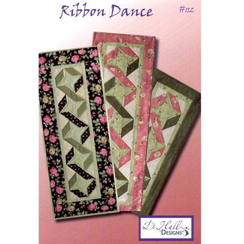 Ribbon dance quilters warehouses for Table runner quilt design