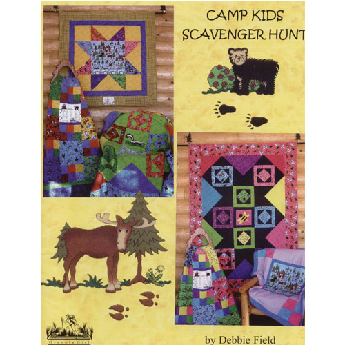 Camp Kids Scavenger Hunt Quilters Warehouses