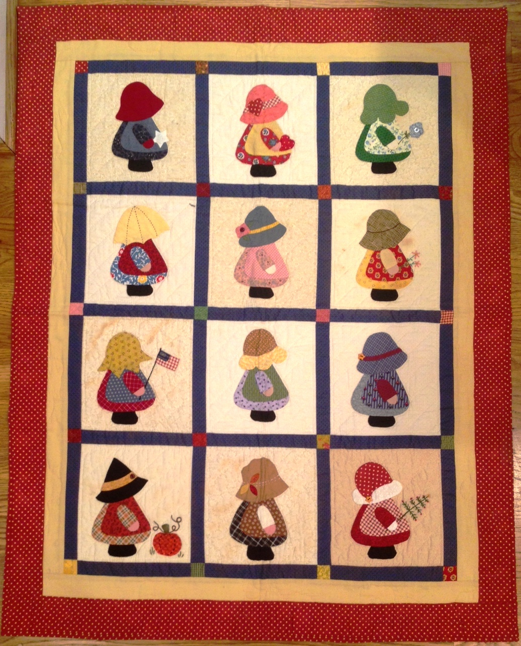 Sunbonnet Sue Applique Sue Quilters Warehouses