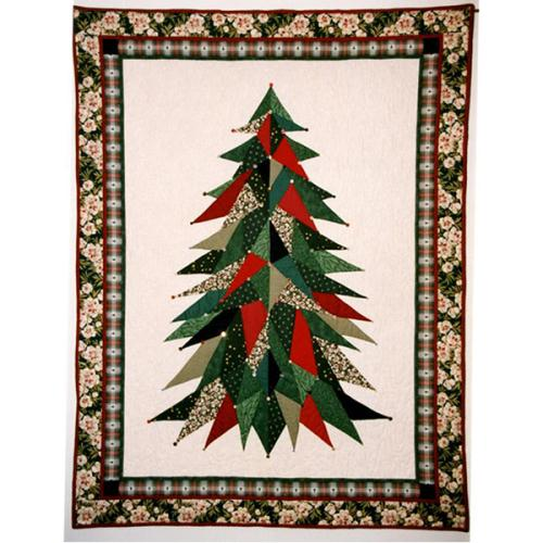 Sage Country Christmas Tree Wall Quilt Pattern Quilters