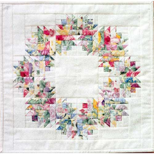 Floral Wreath Quilters Warehouses
