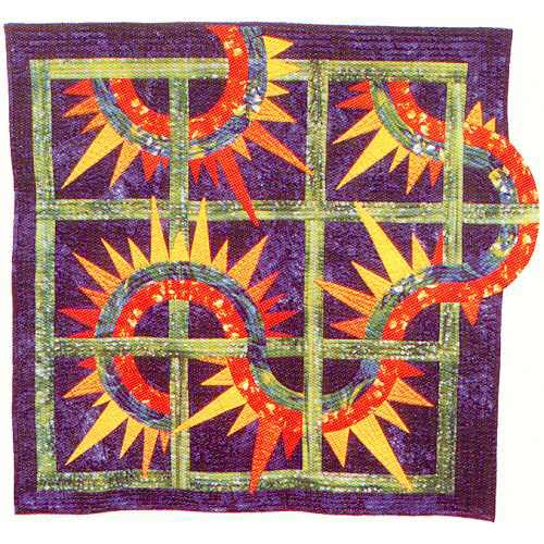 Psychedelic Centipede Quilters Warehouses