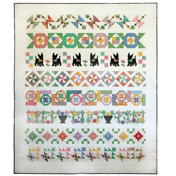 Memory Lane Quilt Pattern By Painted Pony N Quilts Row