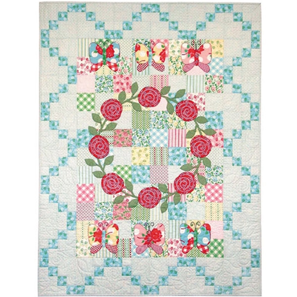 Clara Rose Quilt Pattern Quilters Warehouses Classy Rose Quilt Pattern