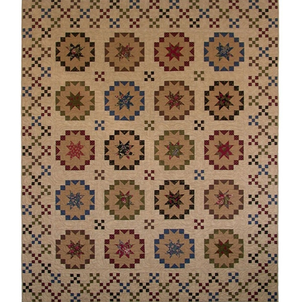 Savannah Starbursts Quilt Pattern By Painted Pony 'N Quilts ... : savannah quilt pattern - Adamdwight.com