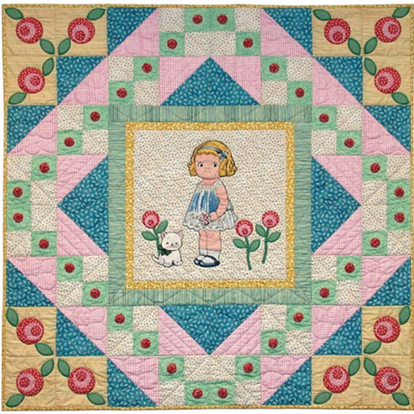 Ring Around The Rosie Quilt Pattern By Painted Pony N