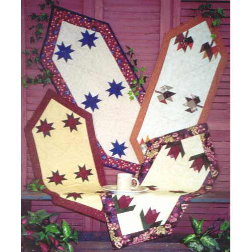 Christmas Table Runner Quilt.Holiday Table Runners Quilt Pattern