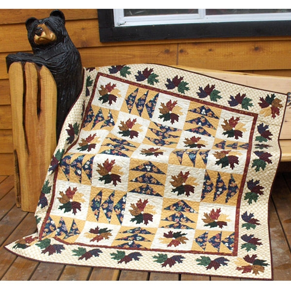 Maple Leaves & Canada Geese Quilt Pattern | Quilters Warehouses : maple quilt - Adamdwight.com