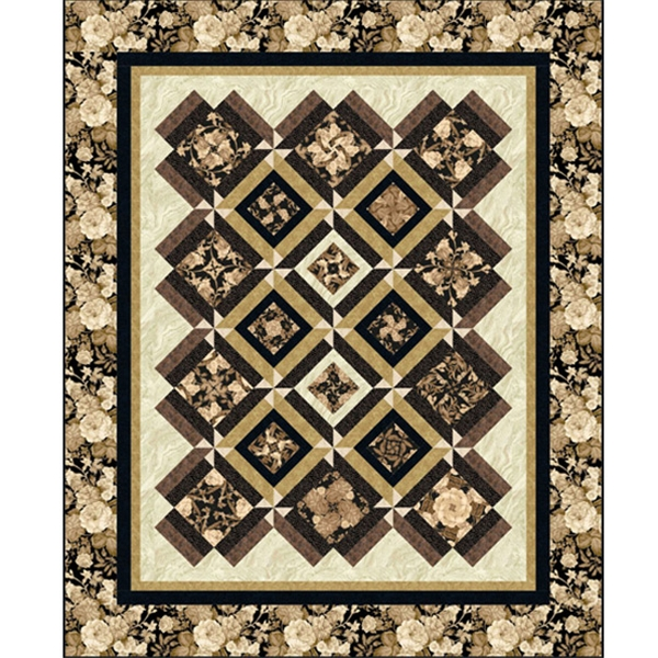 Elegance Quilt Pattern By Quilt Moments Pieced Patterns