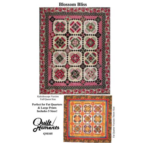 Blossom Bliss Quilt Pattern By Quilt Moments Jelly Roll