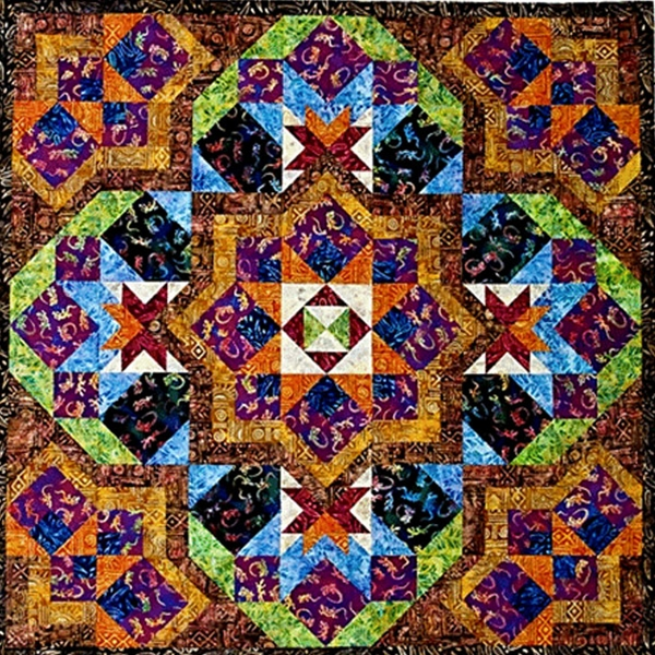 Celebration Quilt Pattern By Quilt Moments , Pieced