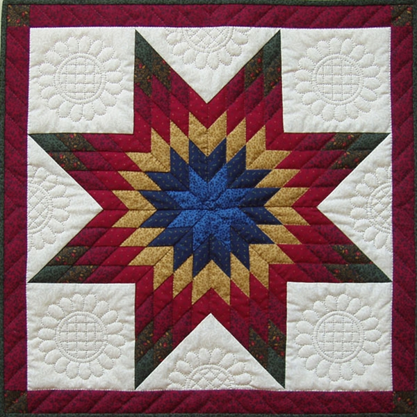 Lone Star Pattern By Rachel S Of Greenfield Pieced