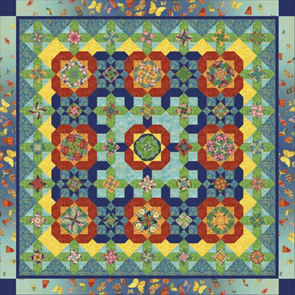 Petal Paradise Quilt Pattern By Quilt Moments Pieced