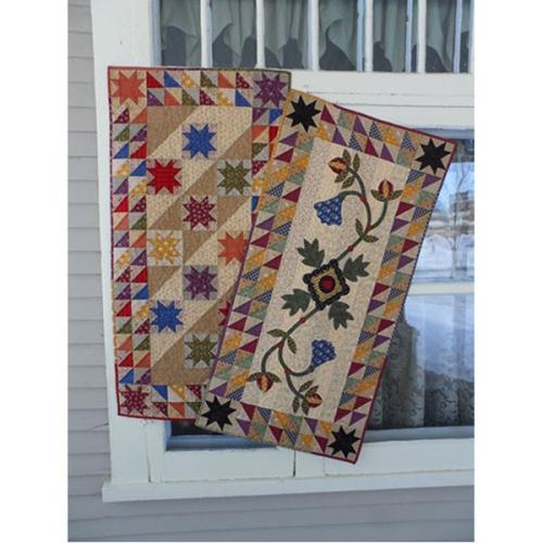 More In The Stars Table Runner Quilt Pattern Quilters