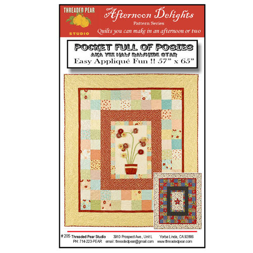 Pocket Of Posies Quilt Pattern.Pocket Full Of Posies Quilt Pattern