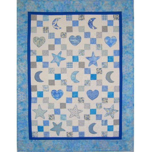 Baby Quilt Patterns.Appliqued Baby Quilt Quilters Warehouses