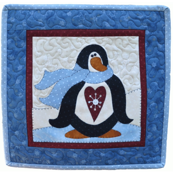 Little Quilts Squared Again January Penguin Pattern