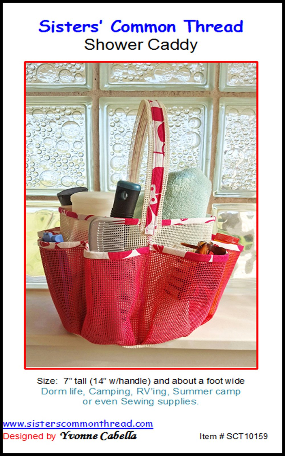 Bags Purses and Totes :: Shower Caddy Pattern