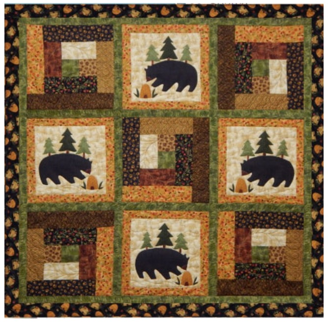 Bears In The Cabin By Prarie Grove Peddler Quilterswarehouse