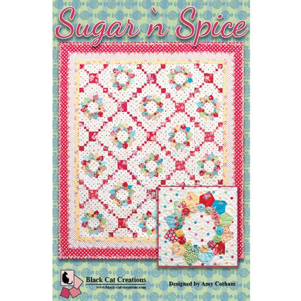Sugar N Spice Quilt Pattern By Black Cat Creations