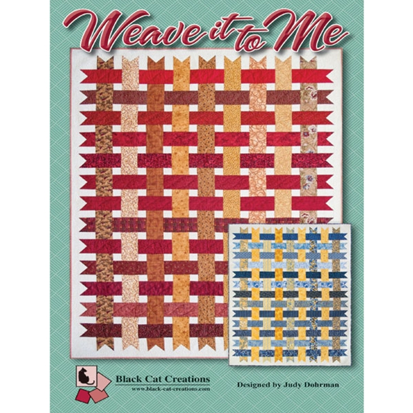 Weave It To Me Quilt Pattern By Black Cat Creations