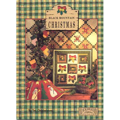 Christmas Quilt Patterns.Black Mountain Christmas Quilt Pattern Book