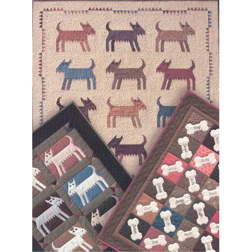 Good Dog Quilters Warehouses Classy Dog Quilt Patterns