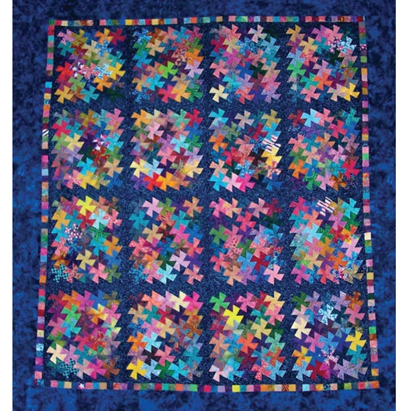 Twister Quilt Pattern Directions : Charmed Twister Quilt Pattern By Amy s Wagon Wheel Creations , Quilt Supplies Quilterswarehouse
