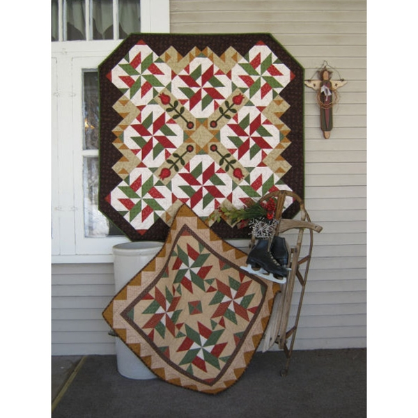 Peppermint Twist Stars Pattern By Snuggles Quilts
