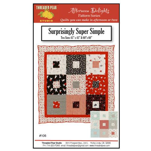 SURPRISINGLY SUPER SIMPLE QUILT ATTERN*