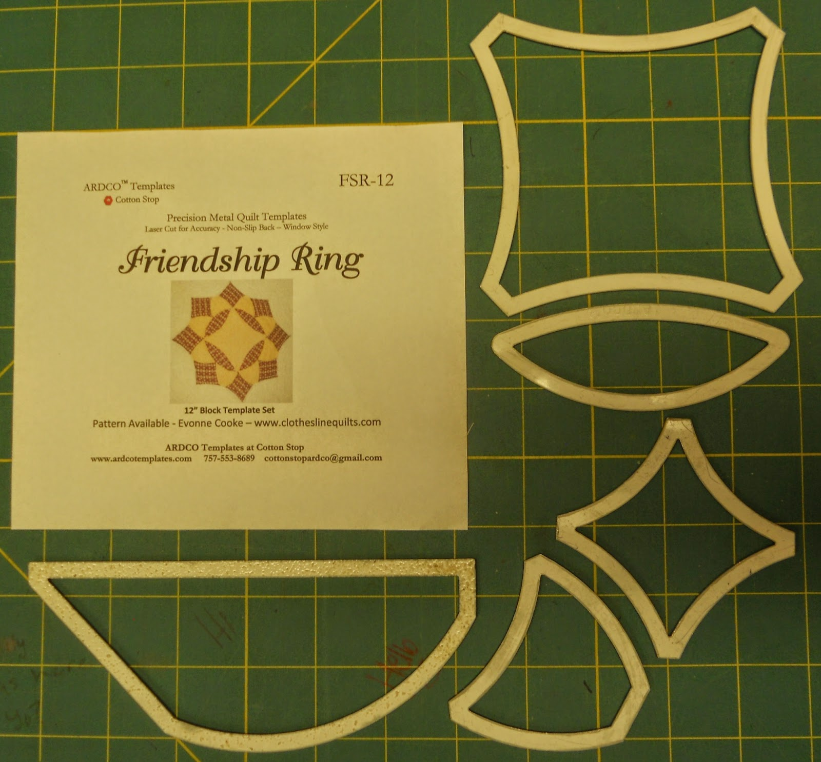 Friendship Ring Template