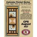 Calendar Pocket Series - August Pattern