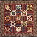 Land Of Lincoln Sampler Quilt Pattern
