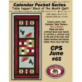 Calendar Pocket Series - June Pattern