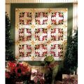 POINSETTIA WREATHS APPLIQUE PATTERN*