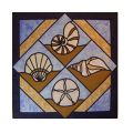 SEA SHELLS STAINED GLASS PATTERN*