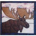 MOOSE STAINED GLASS PATTERN*