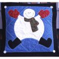 SNOWMAN FASCINATION PILLOW PATTERN*