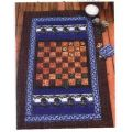 CHECKER GAME TWIN SIZE QUILT
