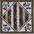 Log Cabin Tulips Quilt Pattern