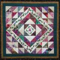 Berry Vine Triangle Medley Wall Quilt Pattern