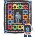 ROBOT MISSION QUILT PATTERN