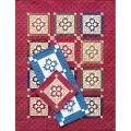 DOUBLE PAW BLOCK, RUNNER & WALL QUILT PATTERN
