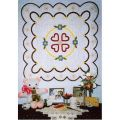 Friendship Hearts and Flowers Wall Quilt Pattern