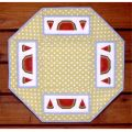 TABLE MAT - WATERMELON PATTERN