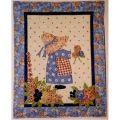 Suzanne's Garden Wall Quilt Pattern